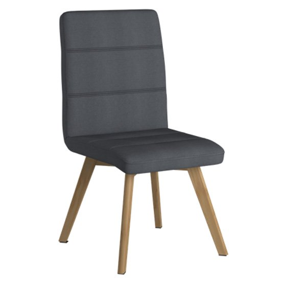 Athens Fabric Home And Office Chair In Grey